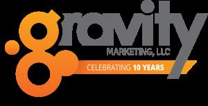 Gravity Marketing Celebrating 10 Years in Business